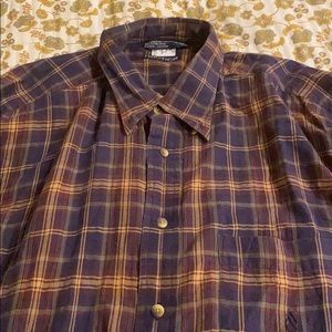 Nautica long sleeve flannel XXL